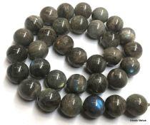Labrodorite Round Beads -12 mm- 40 Cms. Strand
