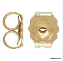 Gold Filled (14k) Earring Back (3.8x4.6mm)-Wholesale Pack