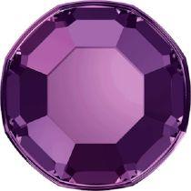 Swarovski Crystal Flatback No Hotfix 2000 SS-3 ( 1.38mm) - Amethyst (F)- 1440 Pcs