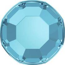 Swarovski Crystal Flatback No Hotfix 2000 SS-3 ( 1.38mm) - Aquamarine (F)- 1440 Pcs