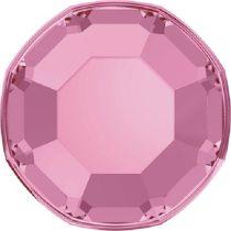 Swarovski Crystal Flatback No Hotfix 2000 SS-3 ( 1.38mm) - Light Rose (F)- 1440 Pcs