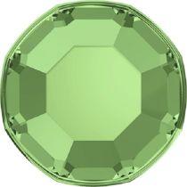 Swarovski Crystal Flatback No Hotfix 2000 SS-3 ( 1.38mm) - Peridot (F)- 1440 Pcs