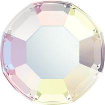 Swarovski Crystal Flatback Hotfix 2000 SS-3 ( 1.38mm) - Crystal Aurore Boreale (F)- 1440 Pcs