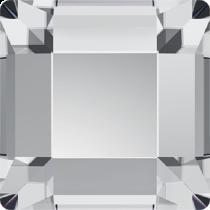 Swarovski Crystal Flatback No Hotfix  2400 Square Flat Back (10.00 mm) - Crystal (F)- 72 pcs