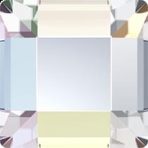 Swarovski Crystal Flatback Hotfix 2400 Square Flat Back (6.00 mm) - Crystal Aurore Boreale (F)- 1440 Pcs