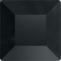 Swarovski Crystal Flatback No Hotfix  2400 Square Flat Back (6.00 mm) - Jet Hematite (F)- 144Pcs