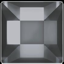 Swarovski Crystal Flatback No Hotfix 2400 Square Flat Back  (6.00 mm) - Crystal Silver Night (F)- 144 Pcs