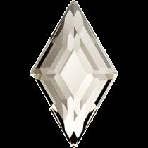 Swarovski Crystal Flatback No Hotfix 2773 Diamond Shape (6.60x3.90 mm)-Crystal Silver Shadow (F) - 288 Pcs