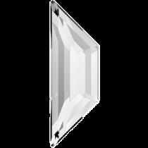 Swarovski Crystal Flatback No Hotfix 2772 Trapeze Flat Back (8.60x2.80mm)-Crystal (F)- 288 Pcs