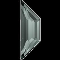 Swarovski Crystal Flatback No Hotfix 2772 Trapeze Flat Back (8.60x2.80mm)-Black Diamond (F)- 288 Pcs