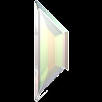 Swarovski Crystal Flatback No Hotfix 2772 Trapeze Flat Back (12.90x4.20mm)-Crystal Aurore Boreale  (F)- 288 Pcs