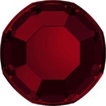 Swarovski Crystal Flatback No Hotfix 2000 SS-3 ( 1.38mm) - Indian Siam (F)- 1440 Pcs