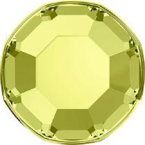Swarovski Crystal Flatback No Hotfix 2000 SS-3 ( 1.38mm) -Jonquil (F)- 1440 Pcs
