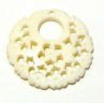 Bone Pendant- 25x25MM