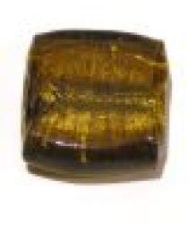 Foil Beads 25m Square- Amber Colour