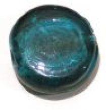 Foil Beads Disc 25mm-Teal Green