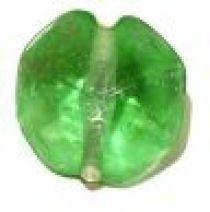 Glass Octagons 19x11mm-Light Green(trans)