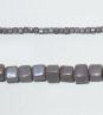Glass Cubes Strands 6mm-Purple(op.)