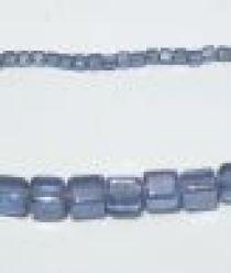 Glass Cubes Strands 8mm- Sapphire(trans))