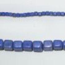 Glass Cubes Strands 8mm-Royal Blue (opaque)