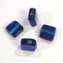 Foil Beads- 13m Square Dark Blue