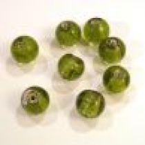 Foil Beads R-8mm-Peridot