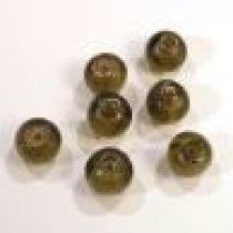 Foil Beads R-8mm-Smoky