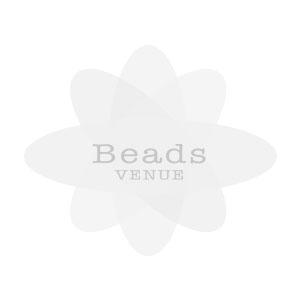 Foil Beads Flat Disc-10mm- Med. Blue