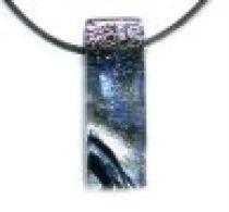 DICHORIC GLASS - Pendants -Silver
