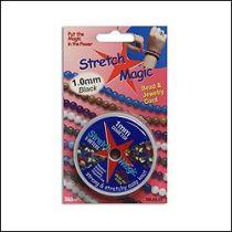 Stretch Magic 1.0mm Black- 5 mtrs. roll