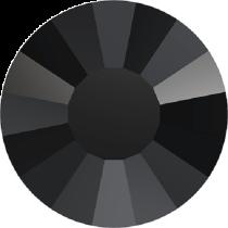 Swarovski Crystal Flatback Hotfix 2034 Concise Flat Back SS-48 ( 11.11mm) - Jet (F) -  96 Pcs