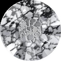 Swarovski Crystal Flatback No Hotfix 2034 Concise Flat Back SS-20 ( 4.70mm) - Crystal Black Patina (F) -  1440 Pcs