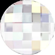 Swarovski Crystal Flatback Hotfix 2035 Chessboard Circle Flat Back (10 mm) - Crystal Aurore Boreale (F) -  192 Pcs
