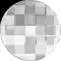 Swarovski Crystal Flatback No Hotfix 2035 Chessboard Circle Flat Back (40 mm) - Crystal Comet Argent Light VS (F) -  6 Pcs