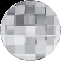 Swarovski Crystal Flatback No Hotfix 2035 Chessboard Circle Flat Back (10 mm) - Crystal (F) -  192 Pcs