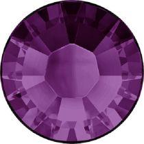 Swarovski Crystal Flatback Hotfix 2038 SS-8 ( 2.35mm) - Amethyst (F)- 1440 Pcs