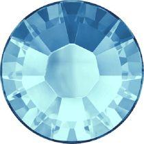 Swarovski Crystal Flatback Hotfix 2038 SS-8 ( 2.35mm) -ᅠAquamarine (F)- 1440 Pcs