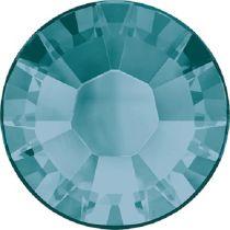 Swarovski Crystal Flatback Hotfix 2038 SS-8 ( 2.35mm) -ᅠBlue Zircon (F)- 1440 Pcs