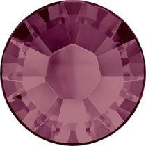 Swarovski Crystal Flatback Hotfix 2038 SS-8 ( 2.35mm) - ᅠBurgundy (F)- 1440 Pcs