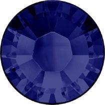 Swarovski Crystal Flatback Hotfix 2038 SS-8 ( 2.35mm) -ᅠDark Indigo (F)- 1440 Pcs