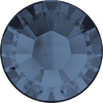 Swarovski Crystal Flatback Hotfix 2038 SS-8 ( 2.35mm) - ᅠDenim Blue  (F)- 1440 Pcs