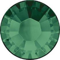 Swarovski Crystal Flatback Hotfix 2038 SS-8 ( 2.35mm) - ᅠEmerald (F)- 1440 Pcs