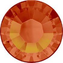 Swarovski Crystal Flatback Hotfix 2038 SS-10 ( 2.75mm) -ᅠFireopal (F)- 1440 Pcs