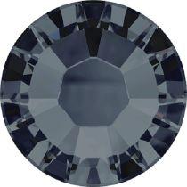 Swarovski Crystal Flatback Hotfix 2038 SS-6 ( 1.95mm) - Graphite (F)- 1440 Pcs