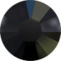 Swarovski Crystal Flatback Hotfix 2038 SS-6 ( 1.95mm) - ᅠJet Aurore Boreale (F)- 1440 Pcs