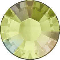 Swarovski Crystal Flatback Hotfix 2038 SS-6 ( 1.95mm) - Jonquil Aurore Boreale (F)- 1440 Pcs