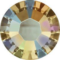 Swarovski Crystal Flatback Hotfix 2038 SS-6 ( 1.95mm) - ᅠLight Colorado Topaz Shimmer (F)- 1440 Pcs