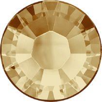 Swarovski Crystal Flatback Hotfix 2038 SS-6 ( 1.95mm) - ᅠLight Colorado Topaz (F)- 1440 Pcs