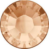 Swarovski Crystal Flatback Hotfix 2038 SS-6 ( 1.95mm) -ᅠLight Peacht (F)- 1440 Pcs