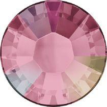 Swarovski Crystal Flatback Hotfix 2038 SS-6 ( 1.95mm) - Light Rose Aurore Boreale (F)- 1440 Pcs